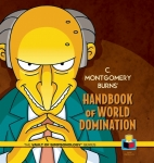 C. Montgomery Burns' Handbook of World Domination Cover